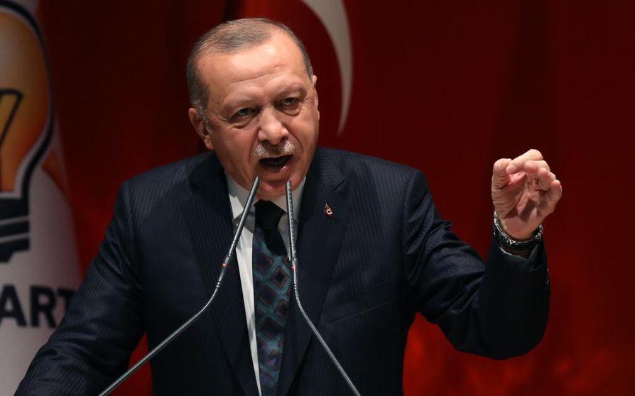 Turkin presidentti Recep Tayyip Erdogan ei aio lopettaa sotaa Koillis-Syyriassa ennen kuin hyökkäyksen tavoitteet on saavutettu.