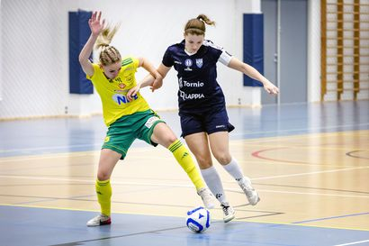 Futsal Team Kemi-Torniolla tiivis puolustuspeli ja tehokkaat hyökkäyskuviot