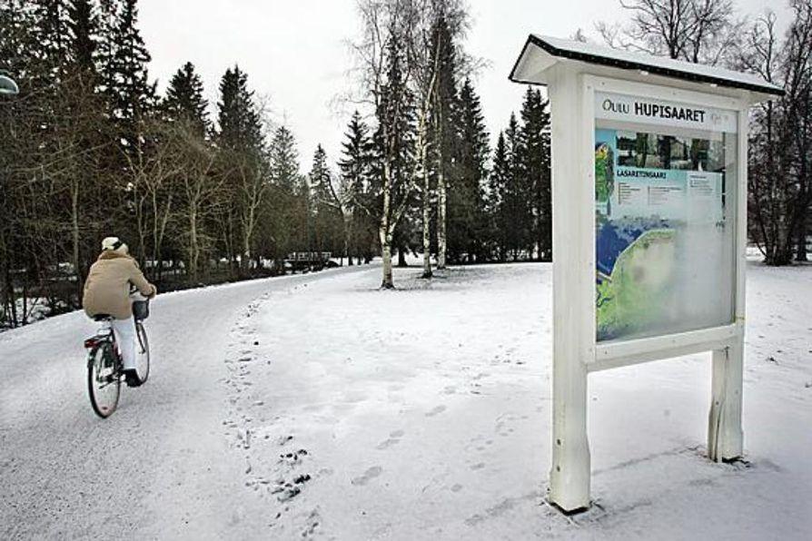 Nuori nainen raiskattiin tammikuussa Hupisaarilla Oulussa.