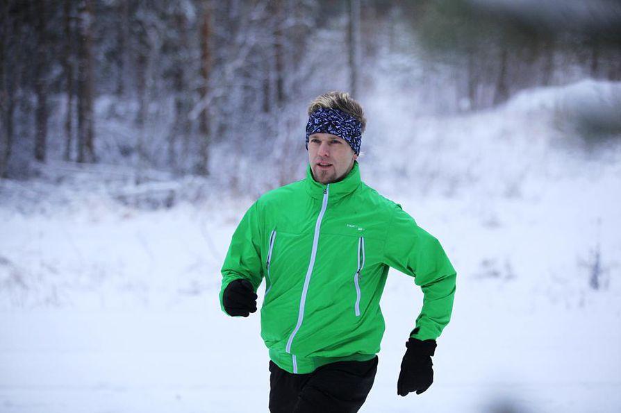 Onni Vähäaho toteaa, että monen päivän juoksu-urakassa on kyse paljon mielenhallinnasta.