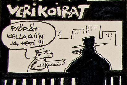 """Tyrnävän verikoirat ei ole tulossa takaisin, arvelee pottupitäjästä lähtöisin oleva kuvittaja Esa Holopainen: """"Yllättävän moni kyselee edelleen sen perään"""""""