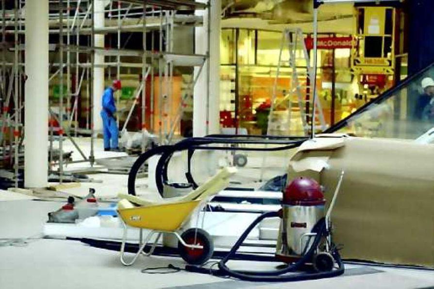 Vantaalaisen Myyrmannin kauppakeskuksen korjaus maksoi 1,5 miljoonaa euroa.