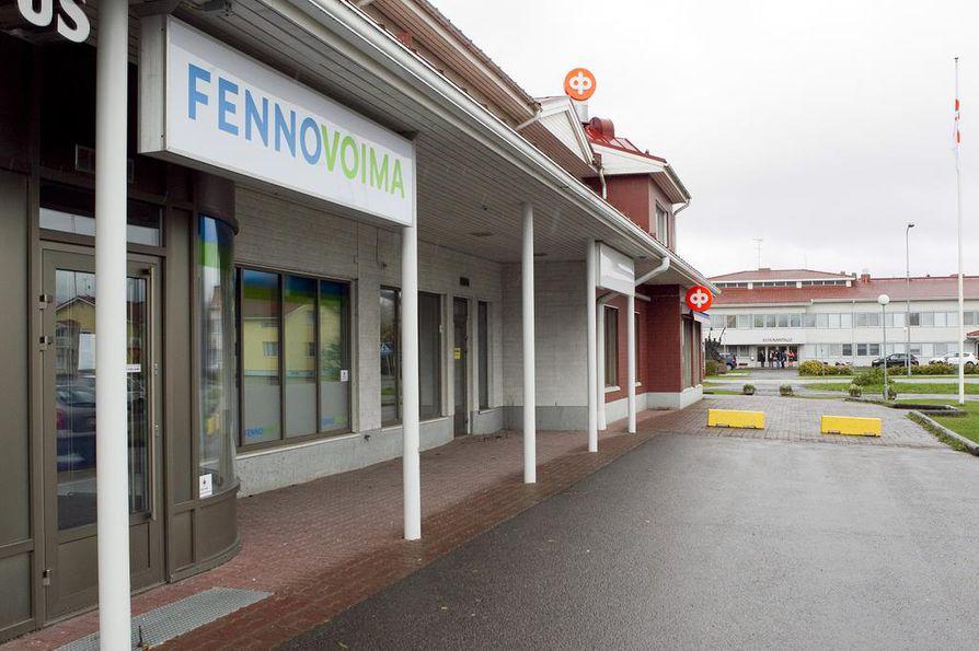 Fennovoiman toimisto Pyhäjoella.