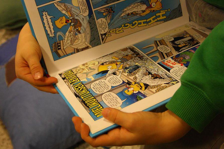 Lukuklaani-hankkeen yhteydessä on innostettu peruskoululaisia lukemaan.