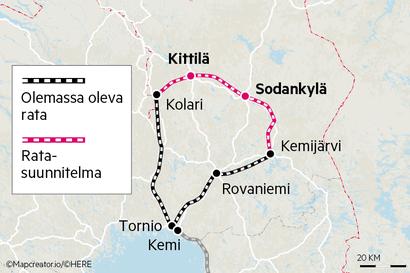 Lappilaiset haluavat uuden rautatien, vaikka Jäämeren rata koki kovan kohtalon