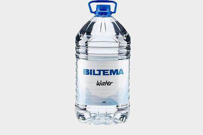 Biltema pyytää palauttamaan vesipulloja takaisin myymälöihin home-epäilyn vuoksi