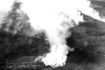 Metsäpalot raivosivat todenteolla Oulun läänissä kesällä 1970 – tuhansia ihmisiä kutsuttiin sammutustöihin