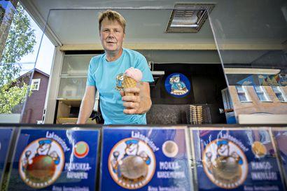 Oululaisen Matti Sotisaaren jäätelöissä maistuu tyrni, puolukka ja chili –yli 30 vuoden kokemus alalta huipentuu Rajakylässä valmistettavaan kermajäätelöön