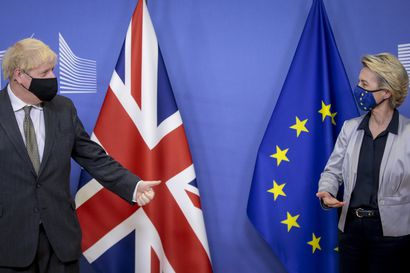 """Britannian ja EU:n hankalat neuvottelut päättyivät vihdoin jouluaattona brexit-kauppasopuun – """"Eurooppa voi nyt jatkaa eteenpäin"""""""
