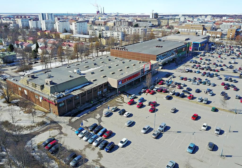 Raksilan markettien paikalle tulossa uusi liikekeskus ja asuintaloja | Oulu | Kaleva.fi