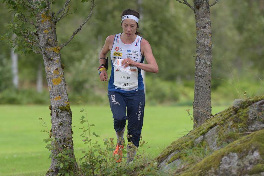 Venla Harju saavutti keskimatkan MM-pronssia myös kaksi vuotta sitten Virossa. Lisäksi Harjulla on MM-pronssia sprintistä vuodelta 2013 sekä kaksi viestimitalia.