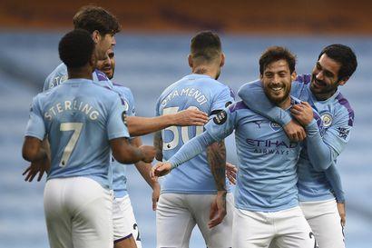 Manchester City ryöpytti Newcastlea ja varmisteli toista sijaansa – nousijajoukkue Sheffield United harppasi sensaatiomaisesti kiinni europelipaikkaan