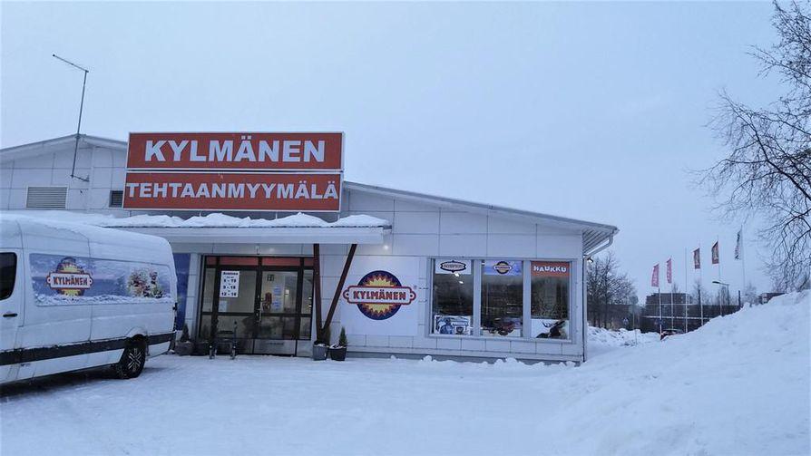 Kylmänen muutti myymälänsä Kaakkurista lähemmäksi keskustaa.