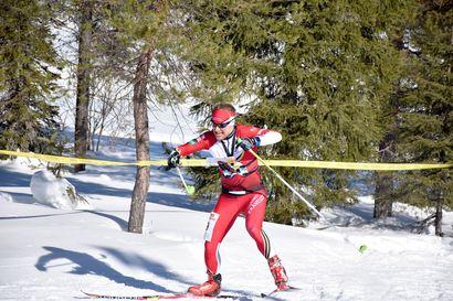 Kuusamon Erä-Veikkojen hiihtosuunnistajista Gretschel 7:s ja Aikio 10:s Pälkäneen SM-kisoissa