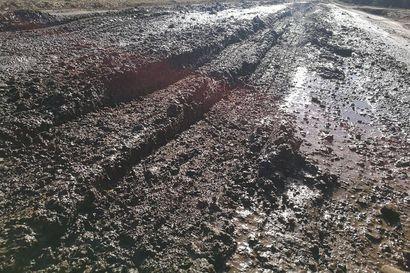 Sorateiden pinnat huonossa kunnossa – raskaita kuljetuksia syytä välttää