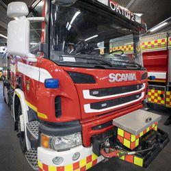 Työntekijä pelastettiin kuorma-auton säiliöstä Oulussa