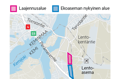 Kierrätys on tehostunut Meri-Lapissa: Esa ja Pojat aikoo laajentaa Vilmilän Ekoasemaa lentokentän risteykseen asti