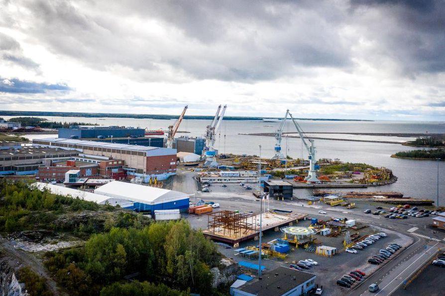 Merivoimien tulevat Pohjanmaa-luokan korvetit rakennetaan Rauman telakalla.