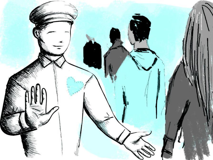 Käytöspoliisi ei puuttuisi turhanpäiväisyyksiin kuten ihmisten pukeutumiseen.