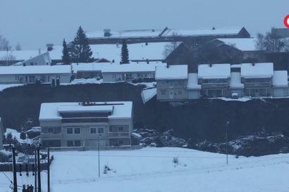Video näyttää, kuinka talot sortuvat maanvyörymän seurauksena Norjassa