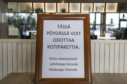 Hallitus esittää ravintoloiden sulun jatkamista 18. huhtikuuta saakka – liikkumisrajoituksia käsitellään tiistaina uudessa neuvottelussa