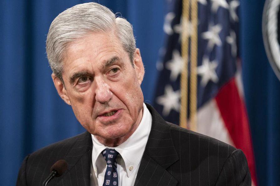 Erikoissyyttäjä Robert Mueller sanoi, että ei ole hänen asiansa esittää rikossyytteitä presidentti Donald Trumpia vastaan.