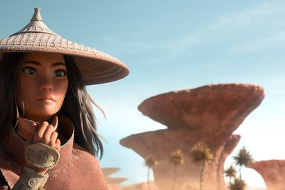 Arvio: Raya on omapäinen sankaritar ja Disney-prinsessa ilman prinssiä