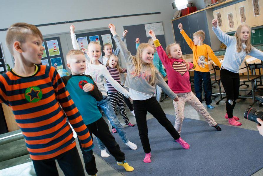 Kisassa palkitun Happia Oy:n Breikker-verkkopalvelun tarkoitus on saada lapset liikkumaan.