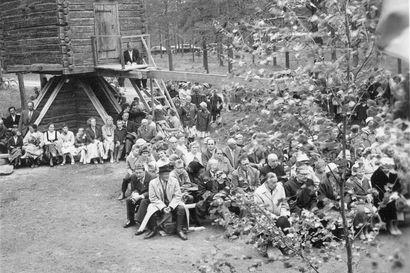 Tällaiset olivat Pudasjärven kotiseutumuseon avajaiset 60 vuotta sitten – katso historialliset kuvat juhlasta