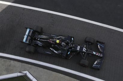 Bottas oli aika-ajojen ykkösosion nopein, Räikkönen karsiutui