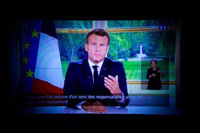 Ranska on saanut ensimmäisen voittonsa koronavirusta vastaan, sanoo Macron – valmiustilaa lievennetään, kahvilat ja ravintolat saattavat avautua