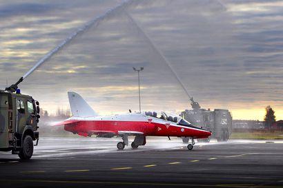 Hawk-koneet lentävät Pohjois-Suomen taivaalla ensi viikolla