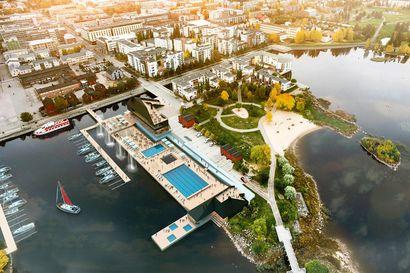 Allas Sea Pool sai rakennusluvat – koronaepidemian vuoksi rakentaminen alkaa ensi vuoden syksyllä, näillä näkymin saunomaan pääsee vasta 2023 alkukesästä