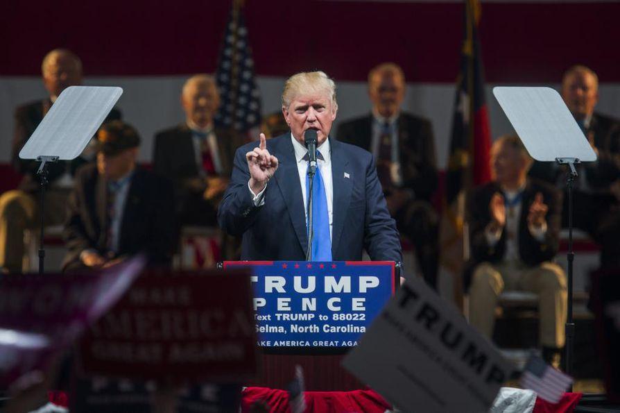 Donald Trump. Arkistokuva.