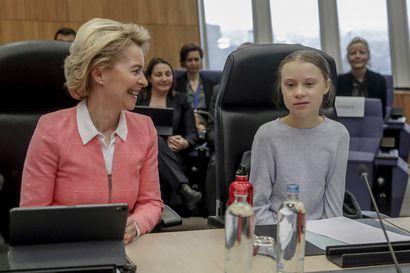 """""""Euroopan nuori polvi on oikeassa ilmastosta"""" – komission puheenjohtaja Ursula von der Leyen tukee nopeita toimia puheenvuorossaan"""