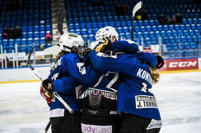 Rovaniemen Kiekko ottaa naisten liigapaikan vastaan