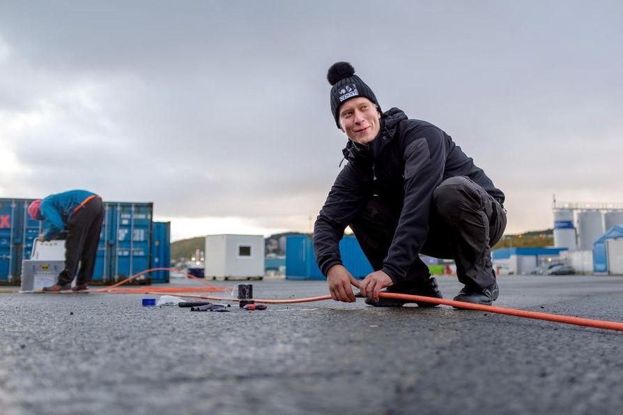 Ilkka Materolle tutkimusmatka äärimmäisen kovissa oloissa pohjoisella jäämerellä on unelmatyö.