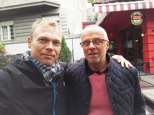 Nelinkertainen olympiavoittaja Lasse Viren oli Belgradissa myös.