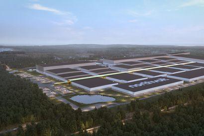 Perämeren länsirannalle jättimäistä akkutehdasta rakentava Northvolt sopi 1,5 miljardin lainasta