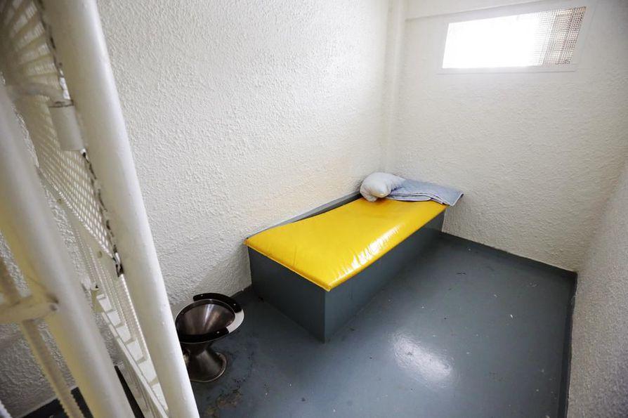 Pelson vankilaa esitetään lakkautettavaksi. Arkistokuva vankilan erityssellistä.