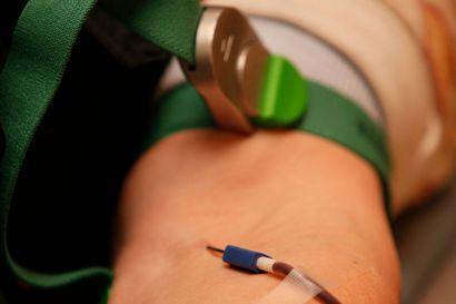 Raahessa luovutetaan verta maanantaina - Italiassa matkustaneille asetettu 28 vuorokauden luovutusrajoitus