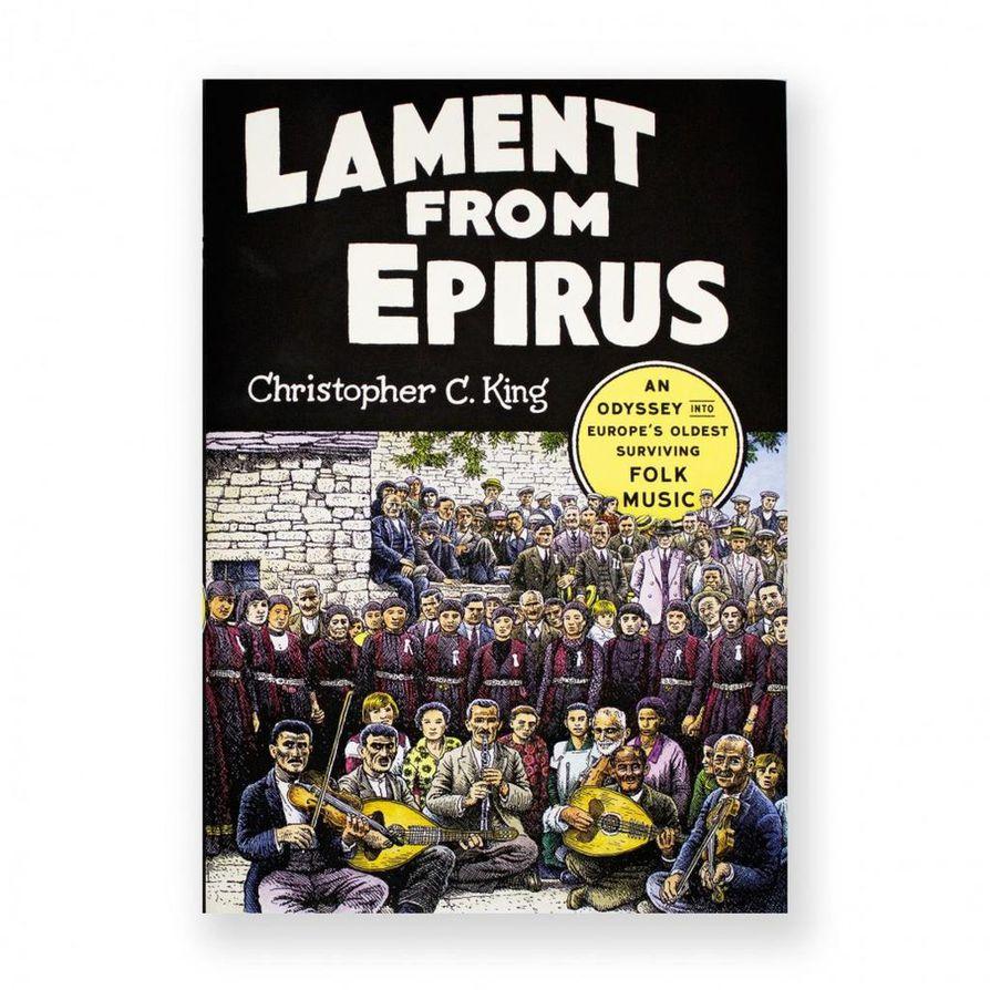 """Christopher Kingin magnum opusta """"Lament from Epirusta"""" ei ole käännetty suomeksi – ainakaan vielä."""