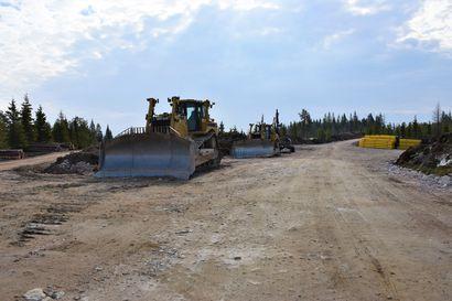 Yli 100 miljoonan euron työmaa – Posion Murtotunturiin nousevan tuulivoimapuiston rakentaminen on jo aloitettu