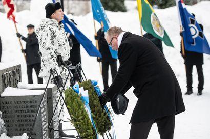 Sodan tärkein opetus on rauha - Kuusamo oli talvisodassa yksi Pohjois-Suomen pommitetuimmista paikkakunnista