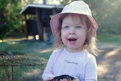 2-vuotiaan Bean innokas ilme hurmasi kalakuvakisan äänestäjät – Iijoen pikkuahven toi kisan voiton