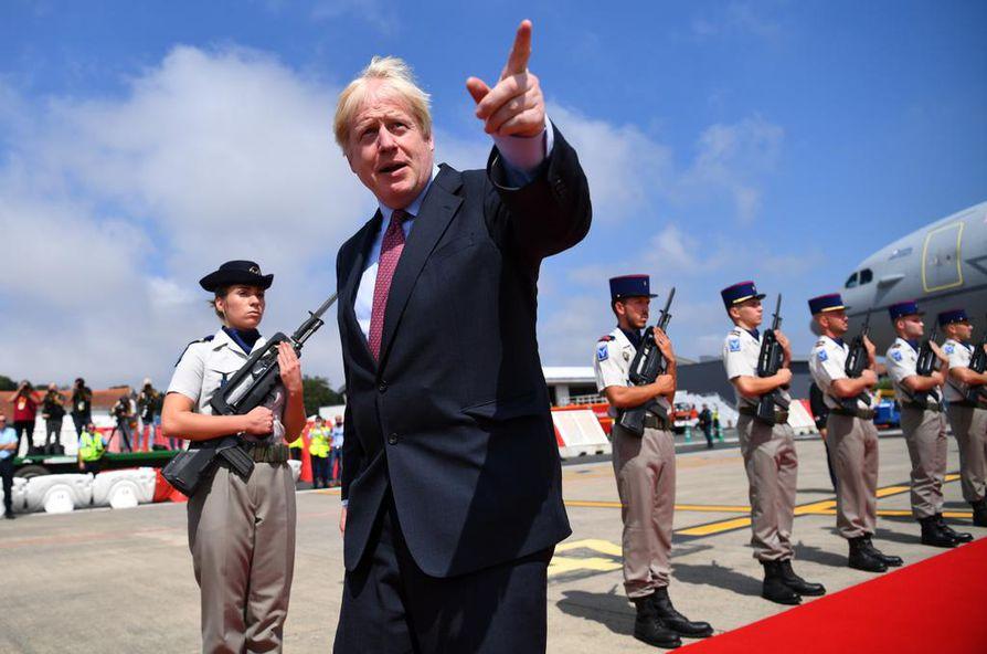 Britannian pääministeri Boris Johnsonilla (kuvassa) on vielä isoja vaatimuksia EU:n suuntaan. Hän kiistää haluavansa maan eroa ilman sopimusta.
