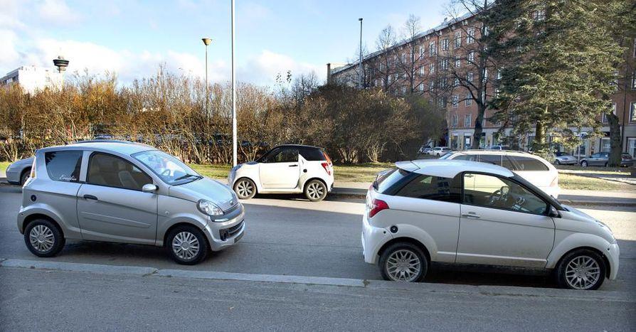 Henkilöauton on tarkoitus tarjota vankempi vaihtoehto mopoautolle.