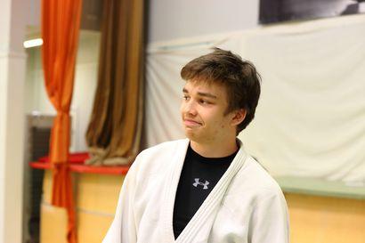Vihannin Judon Jere Rankinen tähyää judohuipulle