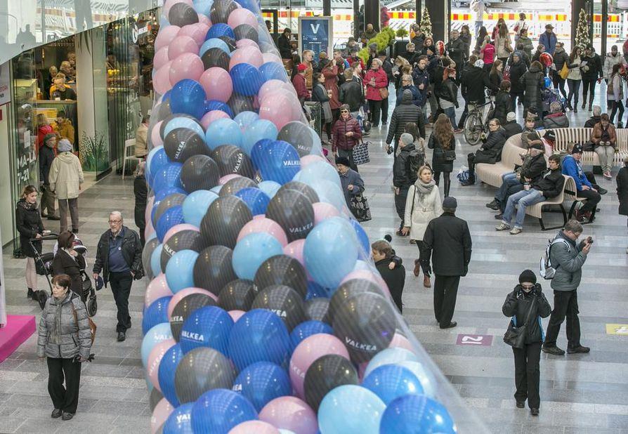 Kauppakeskus Valkean Kesäkadulla järjestetään Suomen virallinen Euroviisukatsomo.