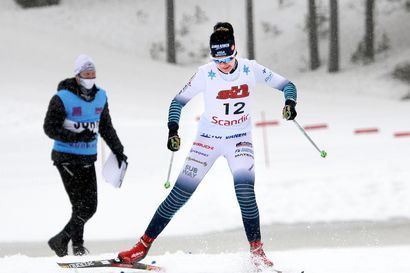 Visa Ski Team Kemin Hanna Niskanen kymmenes Hopeasomman sprintissä